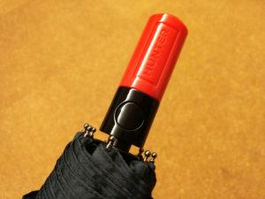 【HUNTER(ハンター)】自動開閉折りたたみ傘 ネイビー 男女兼用 01