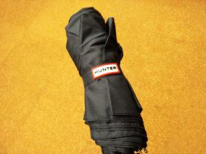 【HUNTER(ハンター)】自動開閉折りたたみ傘 ネイビー 男女兼用 03