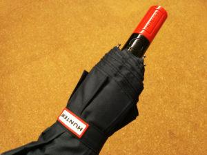 【HUNTER(ハンター)】自動開閉折りたたみ傘 ネイビー 男女兼用 08