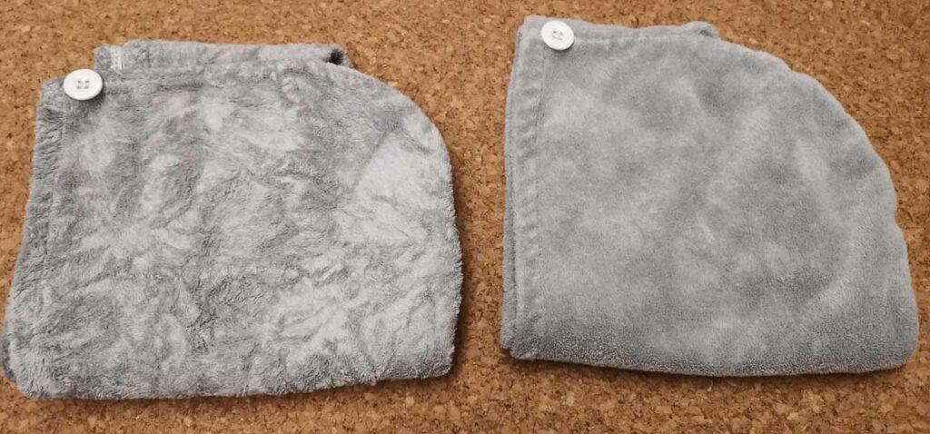 ガス乾燥機で柔軟剤なしの画像比較