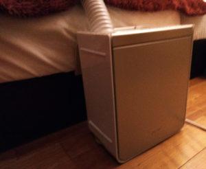 アッとドライ 布団乾燥機スタイリッシュで寝室に置いてもダサくない
