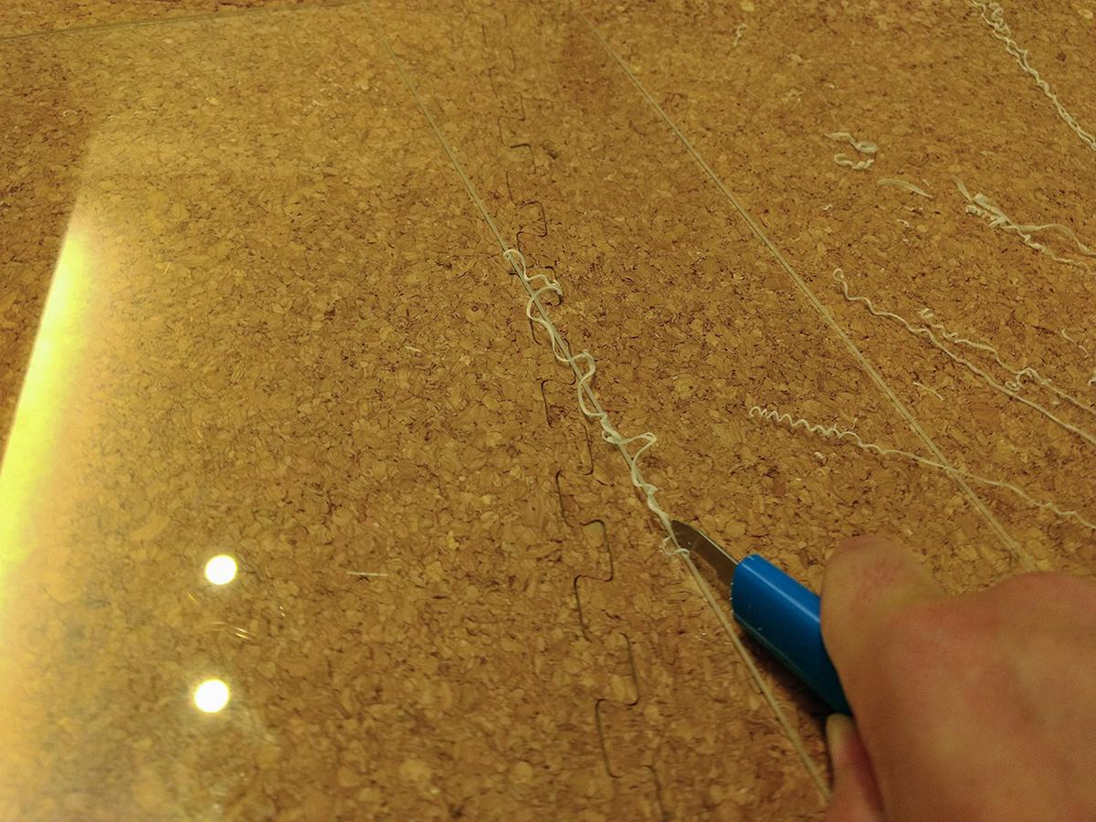 トミカの自作ケースをアクリル板をカットでして製作 (9)